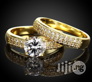 Women's Classic Style Queen Double Wedding and Engagement Ring - Gold | Wedding Wear for sale in Lagos State, Ikeja