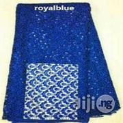 Blue Cord Lace Fabric Material | Clothing for sale in Plateau State, Jos