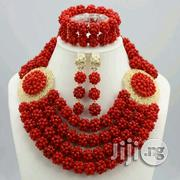 Coral Beads Necklace Earring And Bracelet Jewelry 2 | Jewelry for sale in Plateau State, Jos