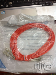 Fiber Patch Cord Lc-sc 5m Mm | Accessories & Supplies for Electronics for sale in Lagos State, Ikeja