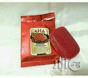 AHA Red Berry Alpha Arbutin Soap | Bath & Body for sale in Lagos State, Ikotun/Igando