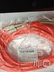 Fiber Patch Cord Sc-sc 15m Duplex Mm | Accessories & Supplies for Electronics for sale in Lagos State, Ikeja