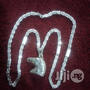 Pure ITALY 925 Original Silver Vasae Logo Design With Horse Pendant | Jewelry for sale in Lagos State, Lagos Island