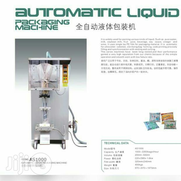 Pure Water Machine Dingle Production