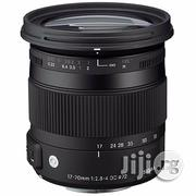 Sigma 17-70mm F/2.8-4 DC Macro OS HSM Lens For Canon | Accessories & Supplies for Electronics for sale in Rivers State, Port-Harcourt