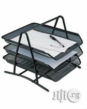 3 Layer Document Rack - Black | Stationery for sale in Lagos State, Yaba