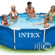 Intex 10 X 30 PVC Metal Frame Pool | Sports Equipment for sale in Lagos State, Ikeja