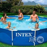 Intex 12 X 30 Metal Frame Swimming Pool Without Filter | Sports Equipment for sale in Lagos State, Ikeja