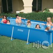 10ft by 6ft Metal Frame Swimming Pool INTEX | Sports Equipment for sale in Lagos State, Ikeja