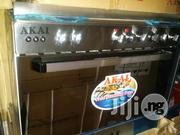 Akai Gass Cooker 5buners All Gas Full Stainless | Kitchen Appliances for sale in Lagos State, Ojo