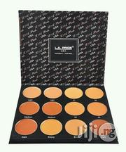 Proffesional LA-PRIDE Powder and Concealer Palette | Makeup for sale in Lagos State, Lagos Mainland