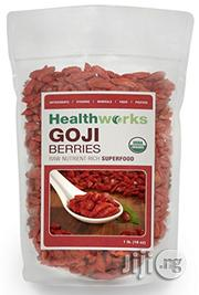 Healthworks Goji Berries Raw Organic, 8 Ounce   Vitamins & Supplements for sale in Lagos State