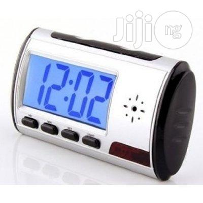 Multifunction Spy Table Clock With Hidden Camera