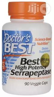 Serrapeptase (120000) | Vitamins & Supplements for sale in Lagos State, Ojodu