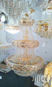 Three Steps Crystal Chandelier Light | Home Accessories for sale in Lagos State, Ojo