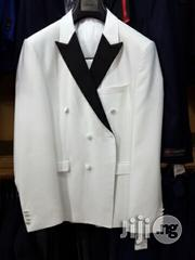 Turkey Brand Daniel Alves White Double Breasted Suits | Clothing for sale in Lagos State, Lagos Island