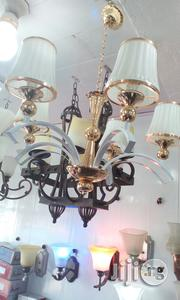 Five In One White And Gold Chandaria Light | Home Accessories for sale in Lagos State, Ojo