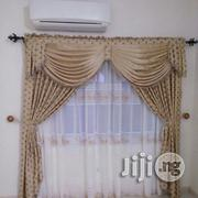 Organza Curtain With Design Valance | Home Accessories for sale in Lagos State, Ojo