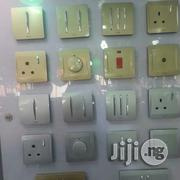 Silver And Gold Colour Switchs And Sockets | Electrical Tools for sale in Lagos State, Ojo