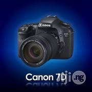 BRAND-NEW Canon EOS 7D 18mp Cmos Digital Slr Camera   Photo & Video Cameras for sale in Lagos State, Ikeja