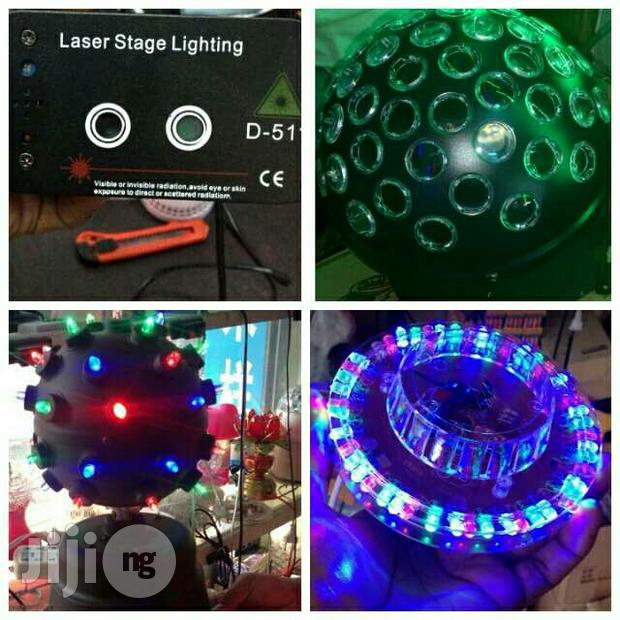 Laser Stage Lights /Big Ball Disco Light For Club
