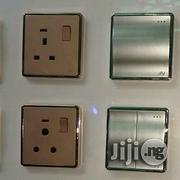 Switchs And Sockets Gold And Silver | Electrical Tools for sale in Lagos State, Lagos Island