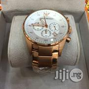 Emporio Armani Authentic Chain Watch - Rose Gold | Watches for sale in Lagos State, Ikeja