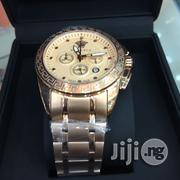 Versace Chain Wristwatch - Rose Gold | Watches for sale in Lagos State, Ikeja