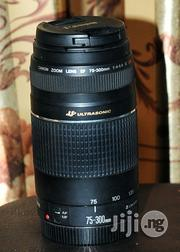 Canon EF 75-300mm(Uk Used)   Photo & Video Cameras for sale in Oyo State, Ibadan North East