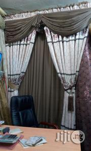 Executive Thick Curtain Good Quality For Parlour | Home Accessories for sale in Lagos State, Lekki Phase 2