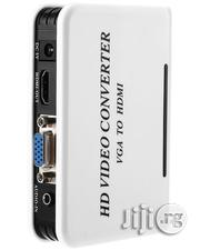 Full HD 1080P VGA Female to HDMI Male Video Converter Adapter With Au | Accessories & Supplies for Electronics for sale in Lagos State, Lagos Mainland