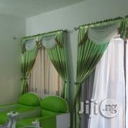 Ramon Green Printed Voil Curtain Excellent Design | Home Accessories for sale in Lagos State, Lekki Phase 2