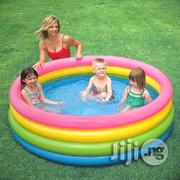 INTEX Inflatable Swimming Pool (3 Person) | Sports Equipment for sale in Lagos State, Ikeja