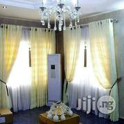 Pure Cream Color Organza Curtain | Home Accessories for sale in Lagos State, Lekki Phase 2