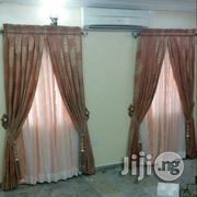 Thick Material Curtain With Day Blinds | Home Accessories for sale in Lagos State, Lekki Phase 2