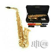 Premier Professional Alto Saxophone With Accessories -gold | Musical Instruments & Gear for sale in Lagos State, Surulere