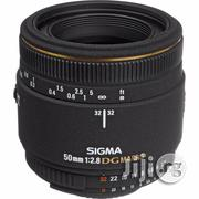 Sigma 50mm F/2.8 EX DG Macro Lens for Nikon SLR Cameras - Fixed | Photo & Video Cameras for sale in Rivers State, Port-Harcourt
