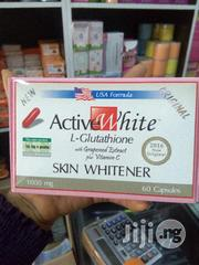 Active White L-glutathione Whitener Pills Vitamin C Skin Capsule | Skin Care for sale in Lagos State