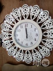 White Portable Wall Clock | Home Accessories for sale in Lagos State, Surulere