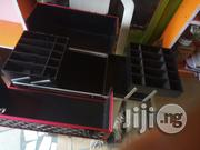 Cute Black And Red Makeup Box With Key) | Tools & Accessories for sale in Lagos State, Amuwo-Odofin