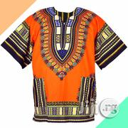 Unisex Danshiki Orange Top | Clothing for sale in Lagos State, Lagos Mainland