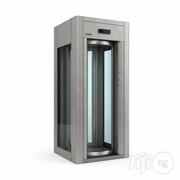 Man Trap Security Booth