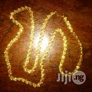 Raw 22karat Pure Gold Necklace Crocodile Tale Design | Jewelry for sale in Lagos State, Lagos Island
