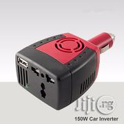 Car Inverter To Power Laptop Phone Or TV- 150W | Vehicle Parts & Accessories for sale in Lagos State, Ikeja