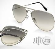 Ray Ban Foldable Aviator Sunglasses | Clothing Accessories for sale in Lagos State, Lagos Island