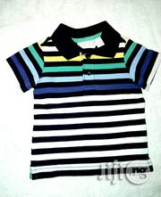 Cute Stripe Polo | Children's Clothing for sale in Lagos State, Ikeja