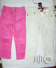 Pink And White Jeans | Children's Clothing for sale in Lagos State, Ikeja
