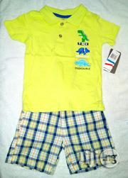 Polo Shirt and Short | Children's Clothing for sale in Lagos State, Ikeja