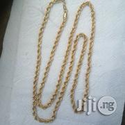 Pure ITALY 750 Tested 18krt Gold Twisted Design | Jewelry for sale in Lagos State, Lagos Island