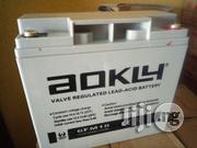 18ah 12V Aokly Deep Cycle Battery   Solar Energy for sale in Lagos State, Ojo